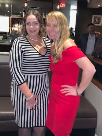 2019 Christmas party-Brittney, Dr. DeAngelis