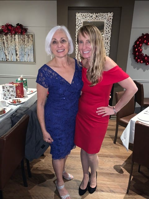 2019 Christmas party-Cathy, Dr. DeAngelis