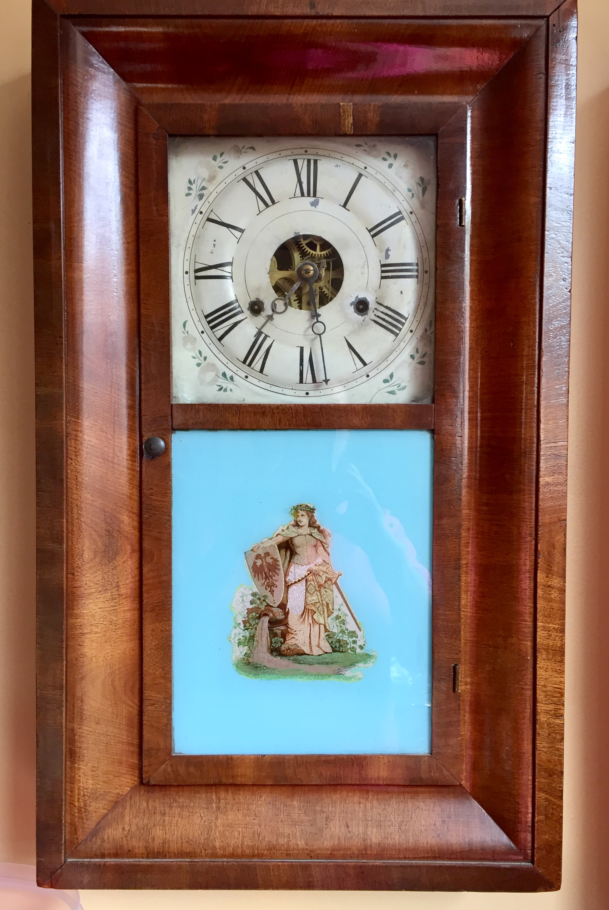 Lorne Park Dentist and clock enthusiast, Dr. Jack Cudmore's antique clock