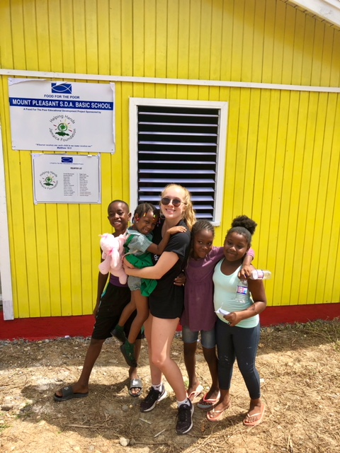Helpng Hands Jamaica Mission-Kayla DeAngelis and friends