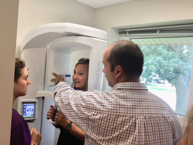 Panoramic Dental X-ray training-Lorne Park Dental Associates-Mississauga-Lakeshore Dentist