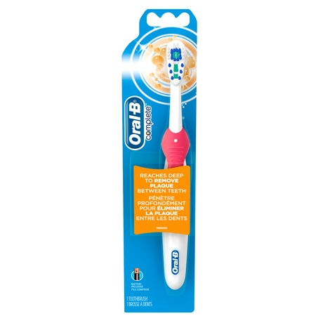 Oral-B battery operated toothbrush