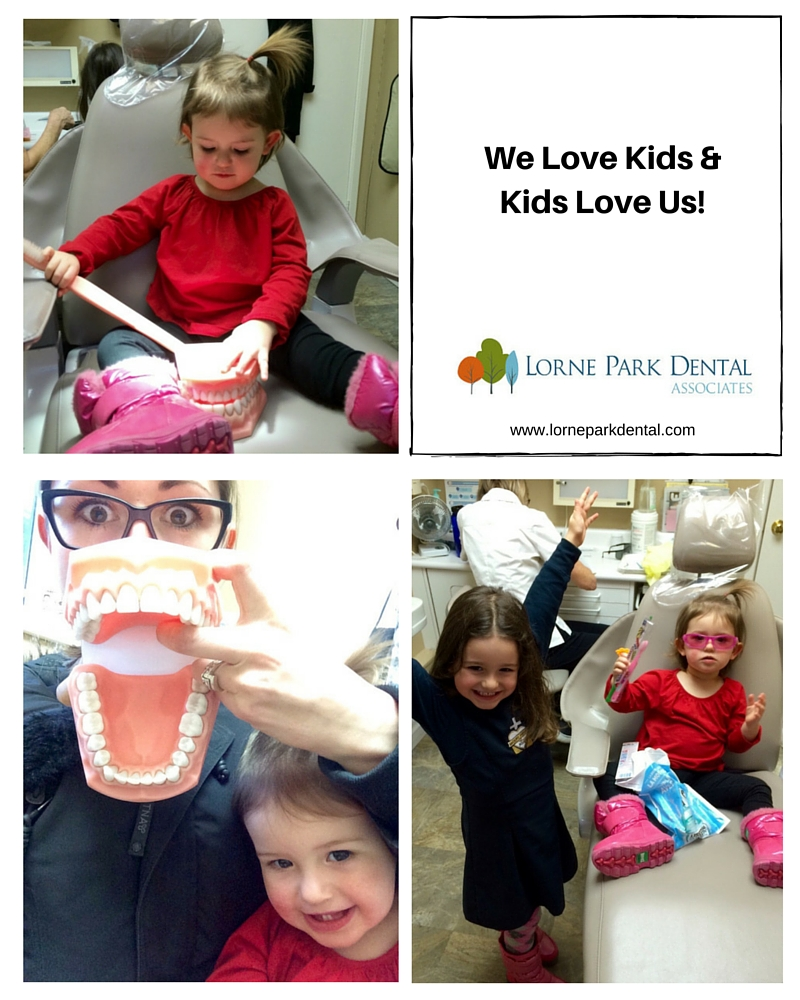 Childs First Visit to Lorne Park Dental - Mississauga Dentist