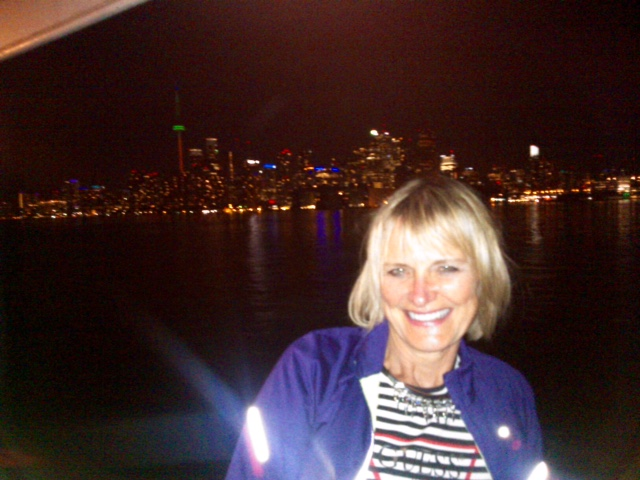 Lorne Park Dental hygenists, Jenny at Halton Peel Dental Association cruise