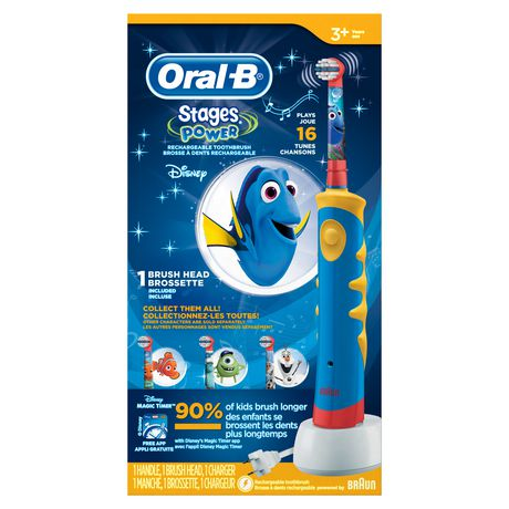 Oral-B electric toothbrush for kids